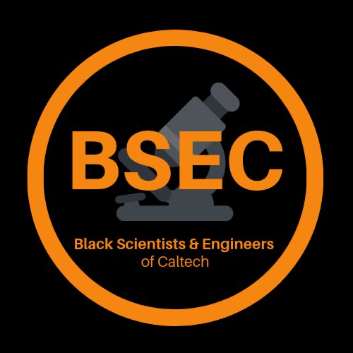 Logo for Black Scientists & Engineers of Caltech (BSEC)