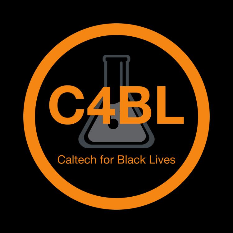 Logo for Caltech for Black Lives (C4BL)